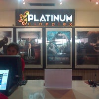 Photo taken at Platinum Cineplex by Vica S. on 10/11/2014