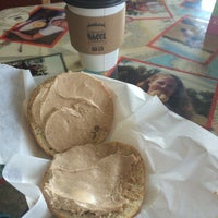 Photo taken at Bloomington Bagel Company by Jungwon M. on 10/24/2014