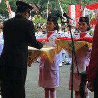 Photo taken at Balai Kota Malang by Zoel on 8/17/2016