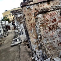Photo taken at St. Louis Cemetery No. 1 by Nadir on 6/26/2013