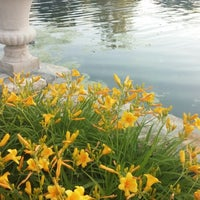 Photo taken at Ward Parkway Skating Pond by Keara M. on 6/13/2014