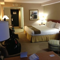 Photo taken at Holiday Inn Express Philadelphia-Midtown by Luciana M. on 1/1/2013