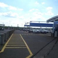 Photo taken at CLE Rental Car Center by Julian K. on 9/29/2012