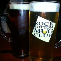 Photo taken at Rock Bottom Restaurant & Brewery by Jimmy A. on 7/19/2013