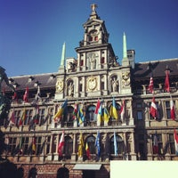Photo taken at Antwerp City Hall by Mark-Julius P. on 10/14/2012