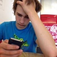 Photo taken at Five Guys by Adrian B. on 4/30/2013