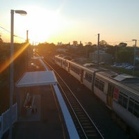 Photo taken at Cannon Hill Railway Station by Andrey V. on 10/20/2014