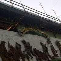 Photo taken at Stadion Siliwangi by Fujimaki R. on 9/21/2014