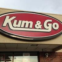 Photo taken at Kum & Go by Eddie S. on 4/20/2013
