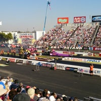 Photo taken at AAA Auto Club Raceway by Kotaro K. on 11/9/2013