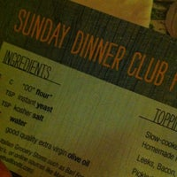 Photo taken at sunday dinner club by Katherine M. on 10/4/2012