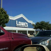 Photo taken at Lowe's Home Improvement by Ron C. on 10/19/2012
