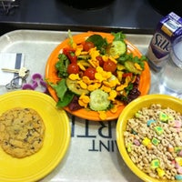 Photo taken at St Gertrude's Dining Hall - Saint Martin's University by Brooke S. on 10/8/2012