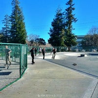 Photo taken at Sunnyvale Skate Park by beno h. on 1/30/2013