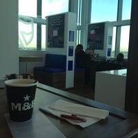 Photo taken at standard bank prestige lounge by Talia F. on 7/14/2014