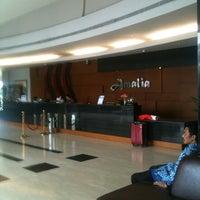 Photo taken at Amalia Hotel by Aji S. on 5/17/2013