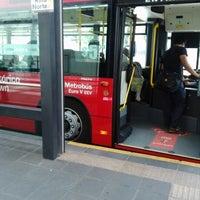 Photo taken at Metrobús Buenavista L4 by Francia D. on 9/26/2012