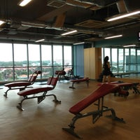 Photo taken at Jurong West ActiveSg Gym by gail_A on 9/9/2013