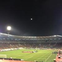 Photo taken at King Baudouin Stadium by Eric H. on 3/26/2013