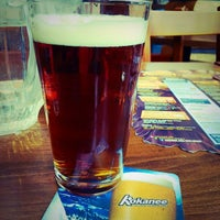 Photo taken at Merlins Bar & Grill Whistler by Lehua R. on 2/4/2015