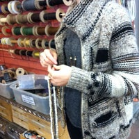 Photo taken at Bead World by Nicky S. on 2/9/2015