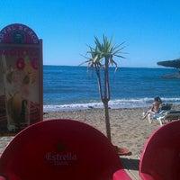 Photo taken at Playa Luna Beach by @PetteLov w. on 10/13/2012