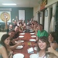 Photo taken at John's Pizza Bar & Restaurant by Sambhav on 3/21/2014