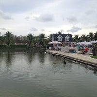 Photo taken at Ban Nam Kieng Din by Waranya C. on 4/15/2013