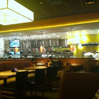 Photo taken at California Pizza Kitchen at Circle Centre by Andrea S. on 4/18/2013