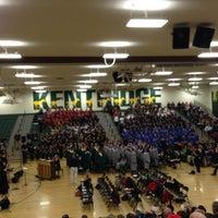 Photo taken at Kentridge High School by Mark S. on 2/12/2013