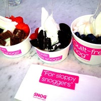 Photo taken at Snog Pure Frozen Yogurt by Jane P. on 9/19/2012