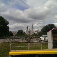 Photo taken at SEPTA Villanova Station by Vamshi G. on 7/24/2013