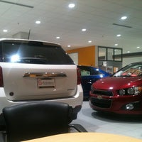 Photo taken at Suburban Chevrolet Cadillac by Andrew W. on 11/7/2012
