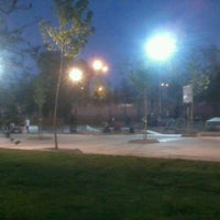 Photo taken at Skatepark Parque O'Higgins by Clau B. on 10/10/2012