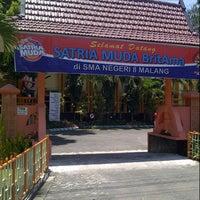 Photo taken at SMA Negeri 8 Malang by Nadhilla K. on 2/8/2015