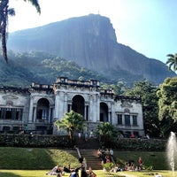 Photo taken at Parque Lage by Heron M. on 6/2/2013