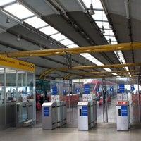 Photo taken at Fiumicino Aeroporto railway station (ZRR) by anc on 6/16/2013