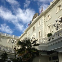 Photo taken at Grand Hotel Des Bains by Pier Luca S. on 9/18/2013