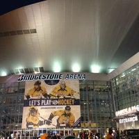 Photo taken at Bridgestone Arena by Scott G. on 3/9/2013