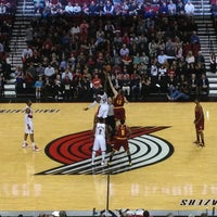 Photo taken at Moda Center at The Rose Quarter by Ryan G. on 1/17/2013