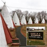Photo taken at Wigwam Village #2 by Kovas P. on 11/26/2016