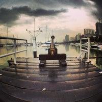 Photo taken at Manila Yacht Club by Mon M. on 1/10/2013
