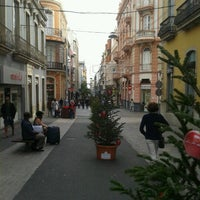 Photo taken at Calle Castillo by Sandra B. on 12/9/2012