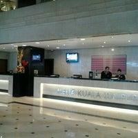 Photo taken at Melia Kuala Lumpur by Faizul A. on 12/27/2012