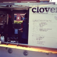 Photo taken at Clover Food Truck by Lizzie M. on 11/29/2012