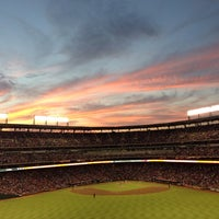 Photo taken at Globe Life Park in Arlington by Edward R. on 8/22/2013