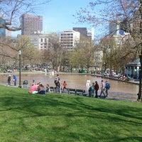 Photo taken at Boston Common by greg b. on 4/27/2013