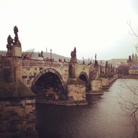 Photo taken at Charles Bridge by BAD DUCK C. on 4/12/2013
