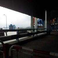Photo taken at Butterworth Ferry Terminal (Pangkalan Sultan Abdul Halim) by Abdul Rahman M. on 10/19/2012