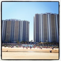 Photo taken at Wyndham Ocean Walk by Anya H. on 3/29/2013